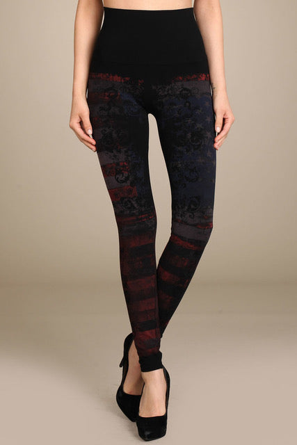 Patterned Leggings B2361USI