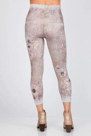 B2370CD  Capri/Short Magnolia Heaven Leggings by M.Rena