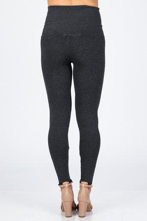 B3761 Tummy Tuck Solid Sweater leggings