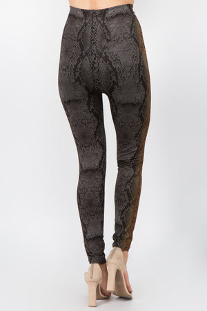 B4292AD High Waist Full Length Legging