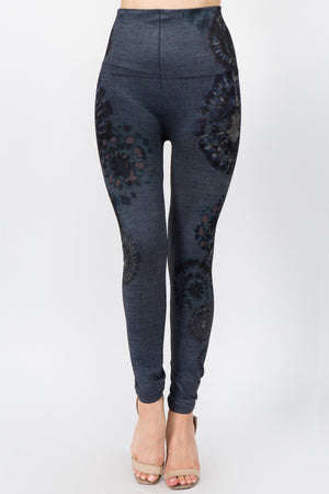 B4292AN High Waist Full Length Leggings