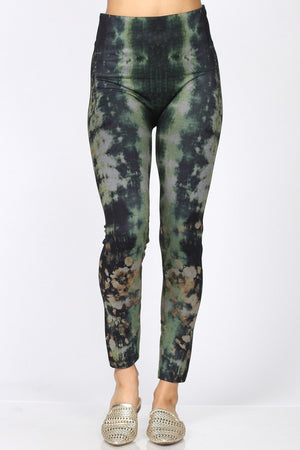 B4292BK High Waist Full Length Legging