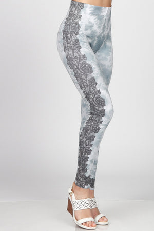 B4292BT High Waist Full Length Legging