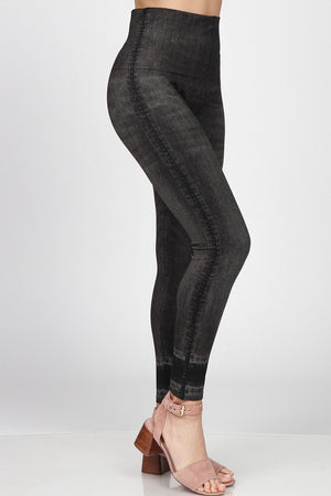 B4292BV High Waist Full Length Legging
