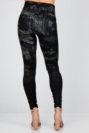 B4437A M.RENA HIGH WAIST FULL LENGTH LEGGING OMBRE CAMO