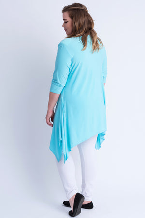 Sharkbite Tunic - Aqua.  ONLINE ONLY
