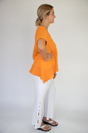 Sandra Tunic Top - Citrus