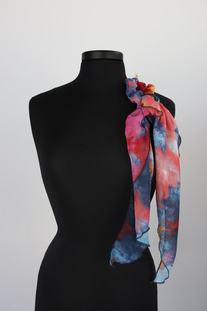 Twist Scarf with Hair Tie