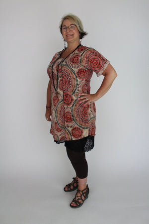 Twist Indian Summer Sweetheart Dress
