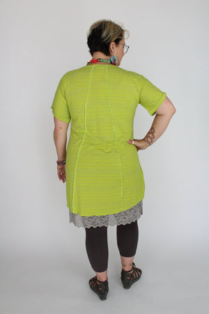 Twist Keylime Sweetheart Dress