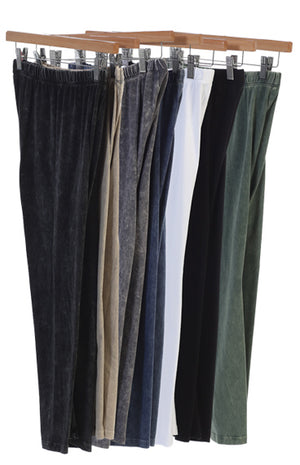Capri Leggings Pant in Multiple Colors