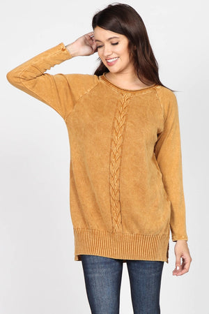 S4795A Sweater-knit Tunic