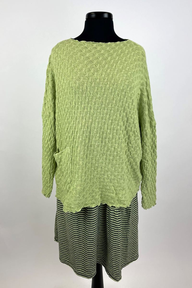 Pocket Pullover Sweater Absinthe