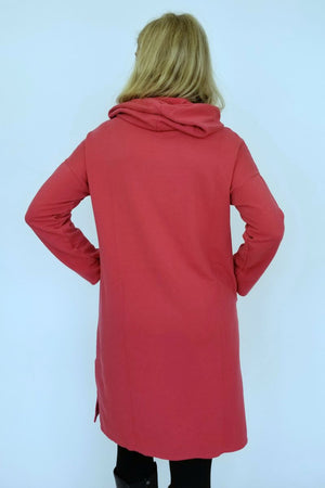 Hoodie Dress in Heart or Iron