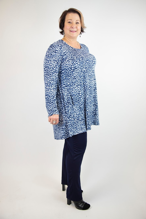 2AM Long Sleeve Pattern Tunic