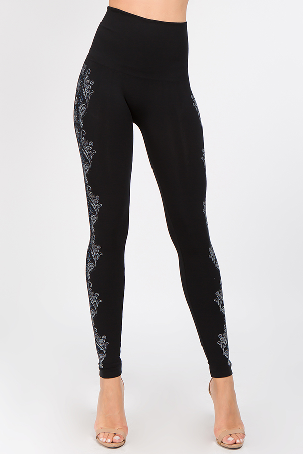 B2361USBP Patterned Leggings