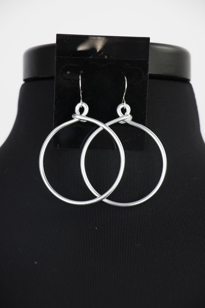 ER180 Single Hoop Earrings