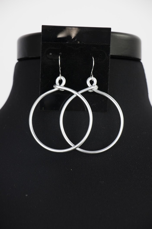 SINGLE HOOP EARRINGS