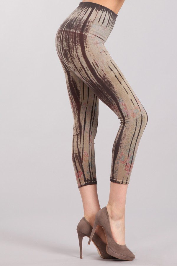 B2370AV Patterned Leggings
