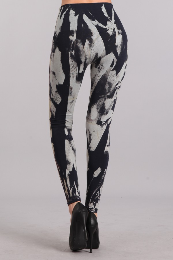 B2361USAW Patterned Leggings