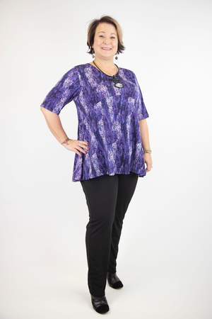 Evelyn Soft V-Neck Tunic