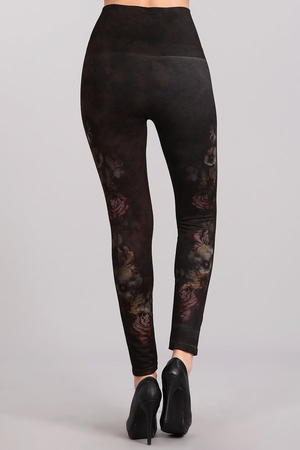 B4292A Patterned Leggings