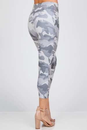 B4438Q Capri/Short Camo Leggings