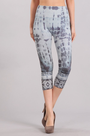 B4223D Patterned Leggings