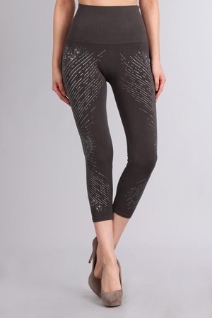 B2370R Patterned Leggings