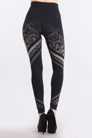B2361USS Patterned Leggings