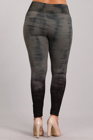 B4222XLK Patterned Leggings