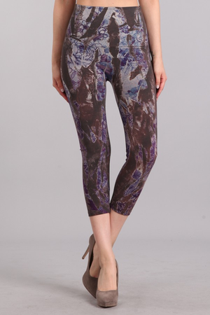 B2370AQ Patterned Leggings