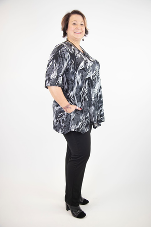 Flora V-Neck Tunic with Pockets
