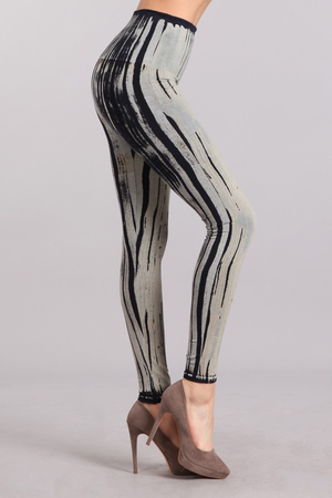 B2361USAY Patterned Leggings