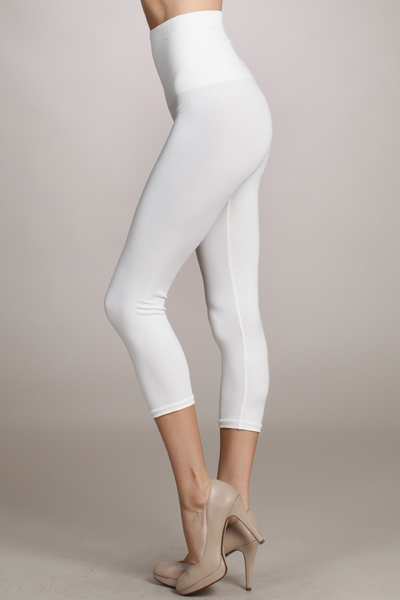 B2370US  Capri/Short Control Top Leggings