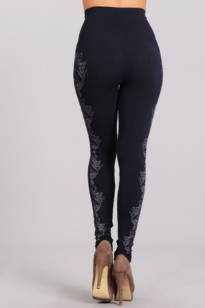 Patterned Leggings B2361USBP