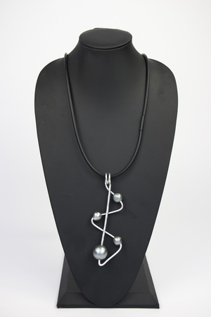 NKL237 Zig Zag Convertible Necklace
