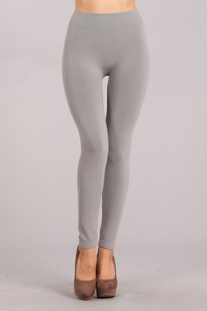 B1466 No Control Full Length Leggings by M.Rena