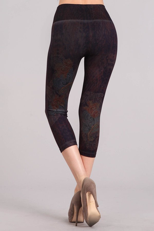 B4223P Patterned Leggings