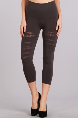 B2370AB Patterned Leggings