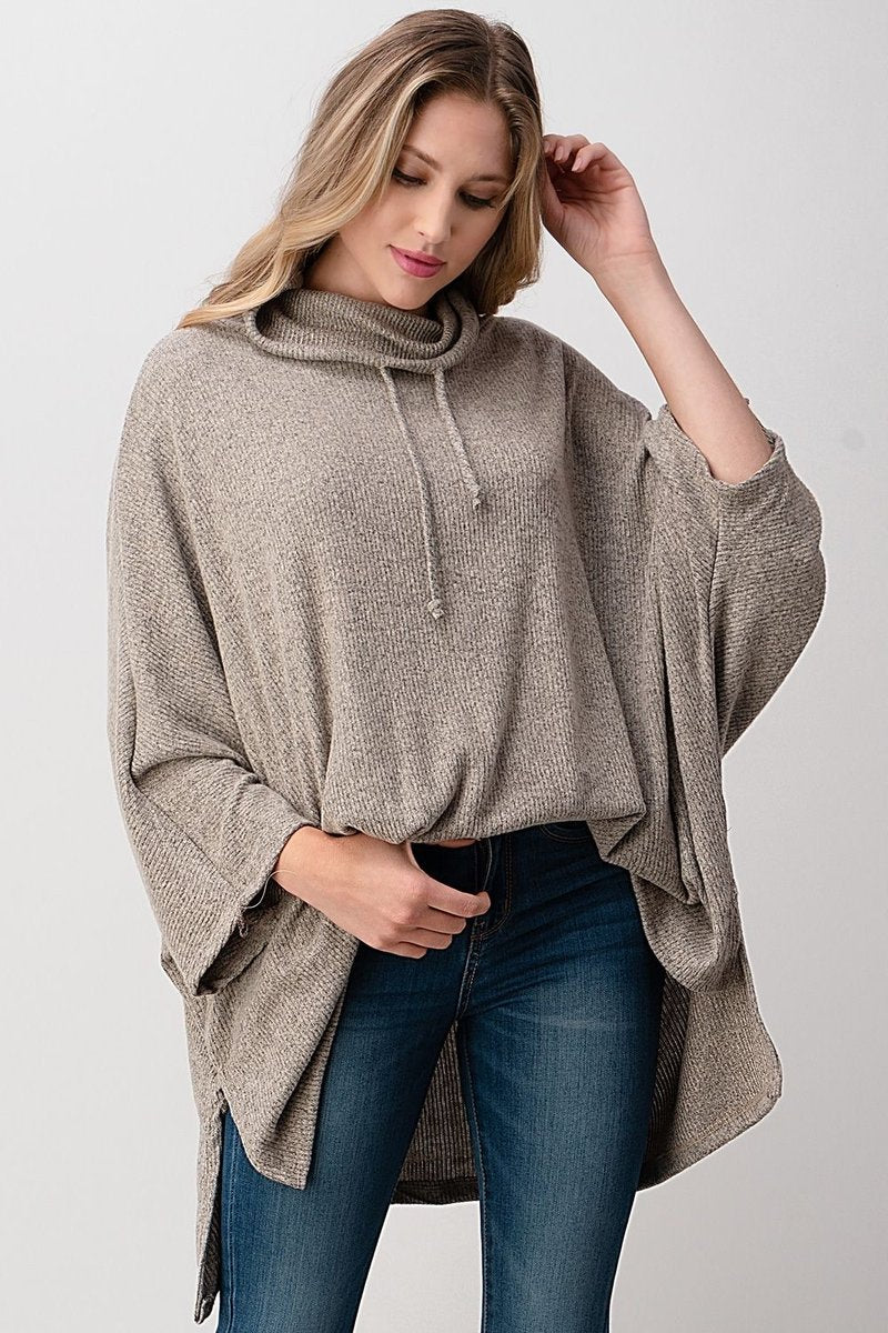 Weekender Sweater Top Oatmeal