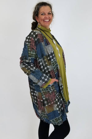 Cleon Printed Cardigan