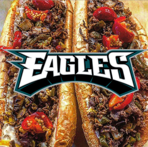 Philadelphia Eagles, Philly cheesesteaks from Big Daves Cheesesteaks