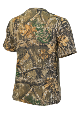 Mens Short Sleeve Polyester Camo T-Shirt