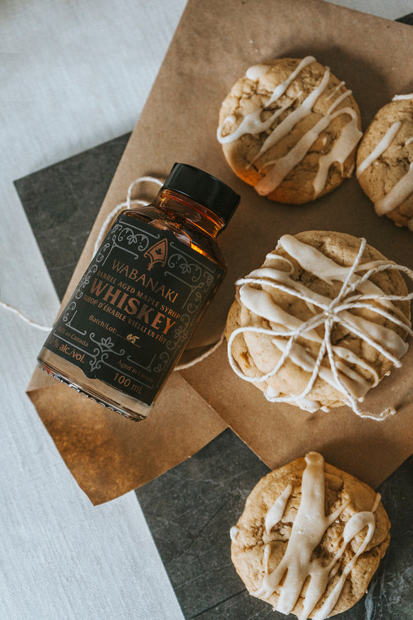 Wabanaki Maple Syrup with Maple Brown sugar cookie