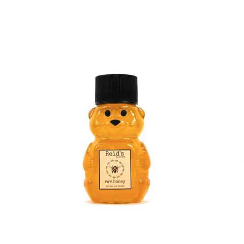 2 ounce raw honey bear for party favors