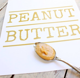 Stainless Peanut Butter Spoon