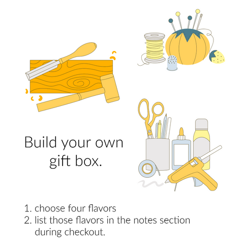 Custom Peanut Butter Gift Box