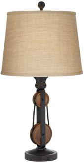 Iron Industrial Inspired Table Lamp