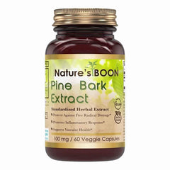 Nature's Boon Pine Bark Extract 100 Mg 60 Veggie Capsules
